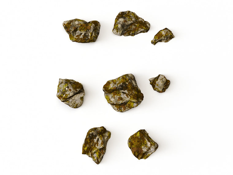 Mossy Rocks Set