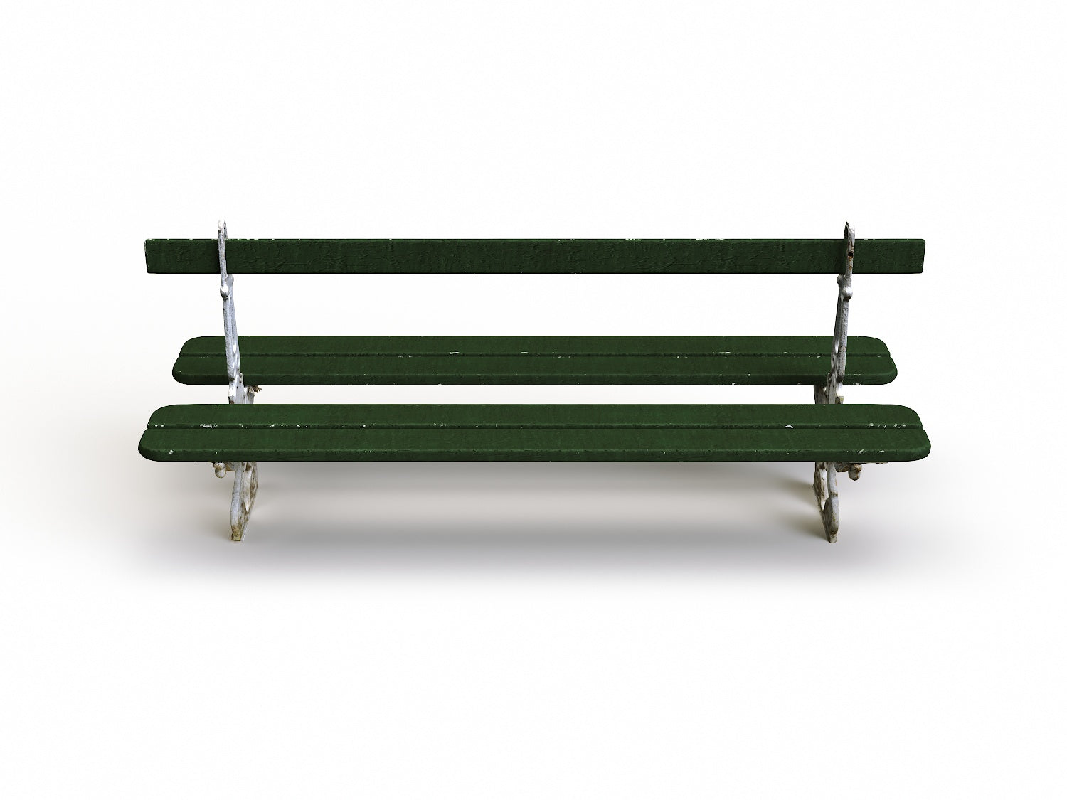 Parisian Public Bench