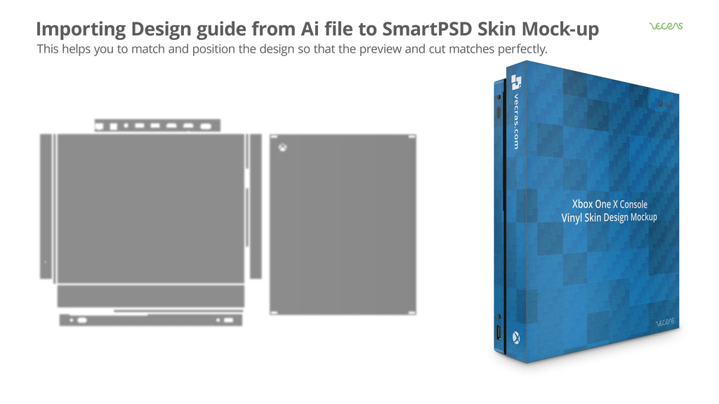 Importing Design Guide from Ai to SmartPSD for Vinyl CutFile | VecRas