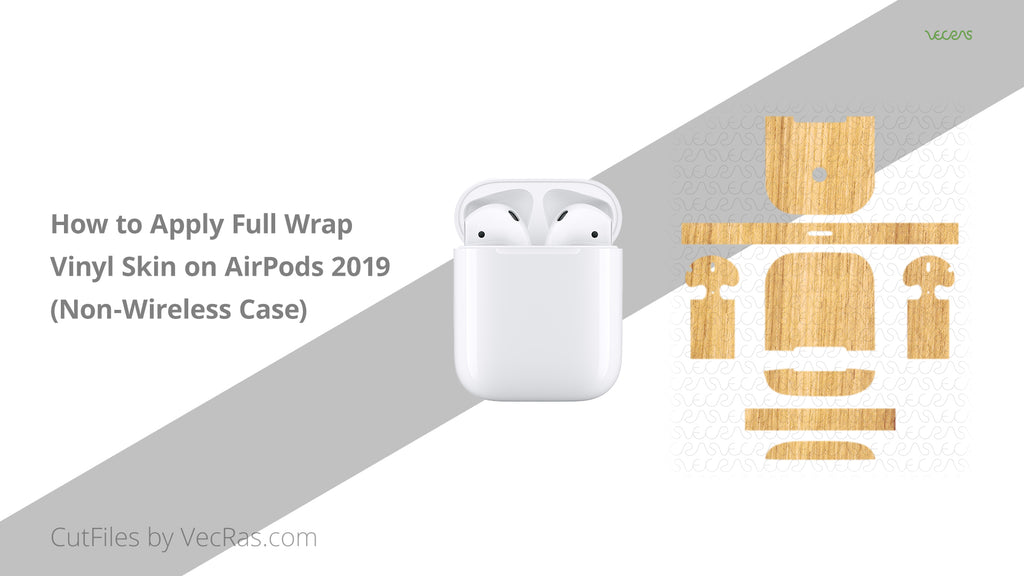 AirPods 2 Non-Wireless Charging Case 3M Skin Application Tutorial