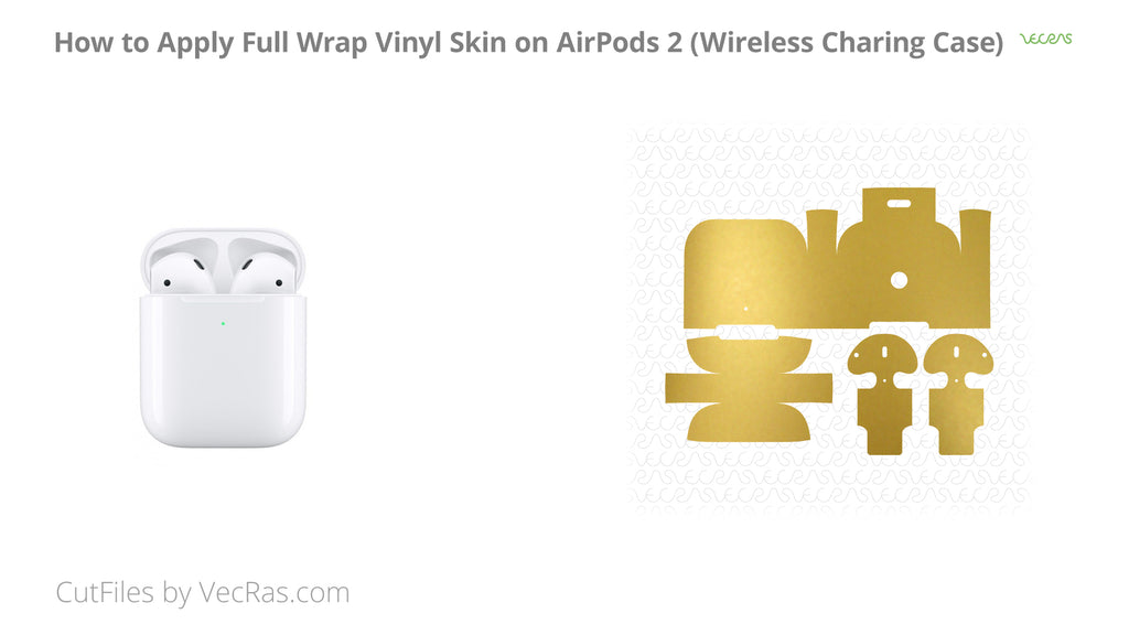 AirPods 2 Wireless Charging Case Skin Application Tutorial