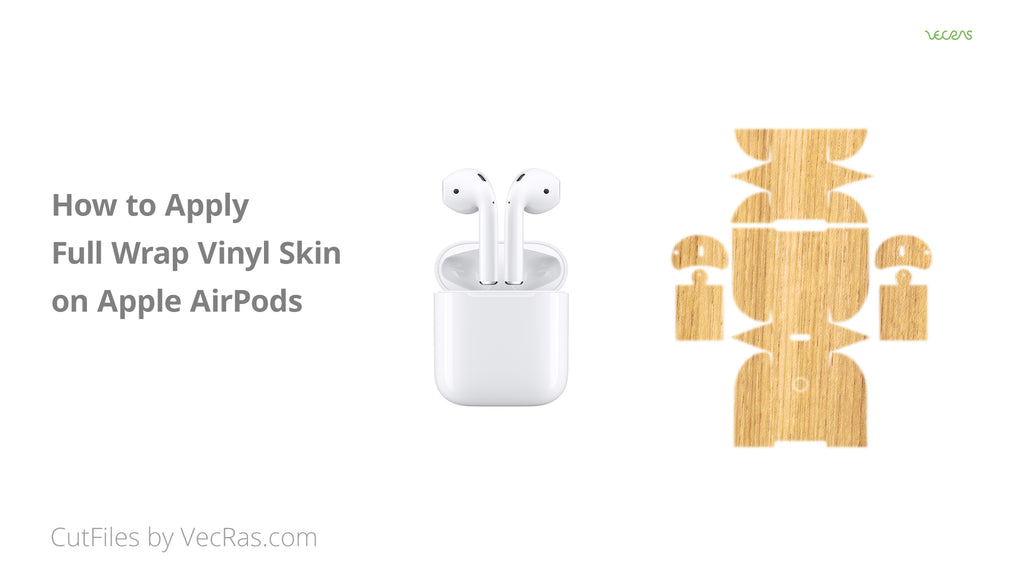 How to Apply 3M Vinyl Skin on Apple AirPods Tutorial