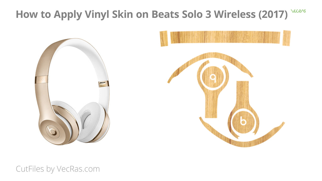 Beats Solo 3 Wireless Vinyl Skin Application Tutorial