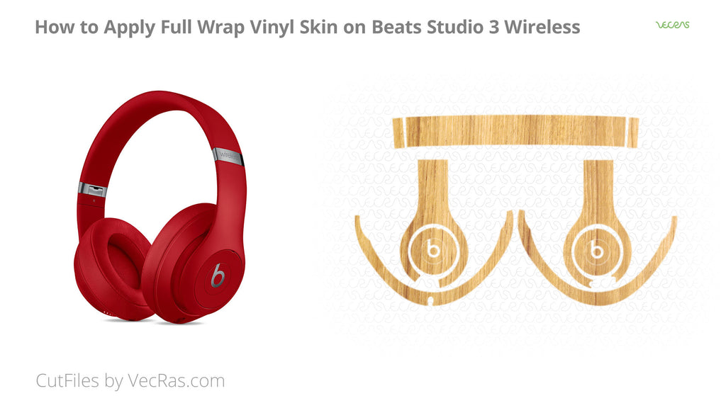Beats Studio 3 Wireless 3M Vinyl Skin Application Tutorial