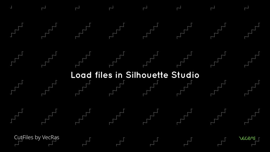 How to use Vector Cutfiles in Silhouette Studio