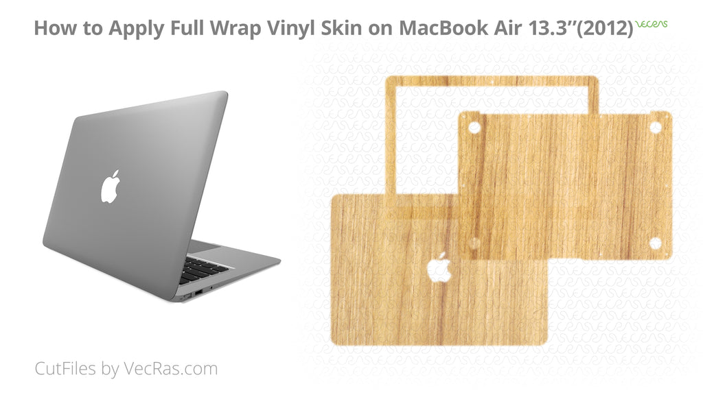 MacBook Air 13.3'' 3M Vinyl Skin Application Tutorial