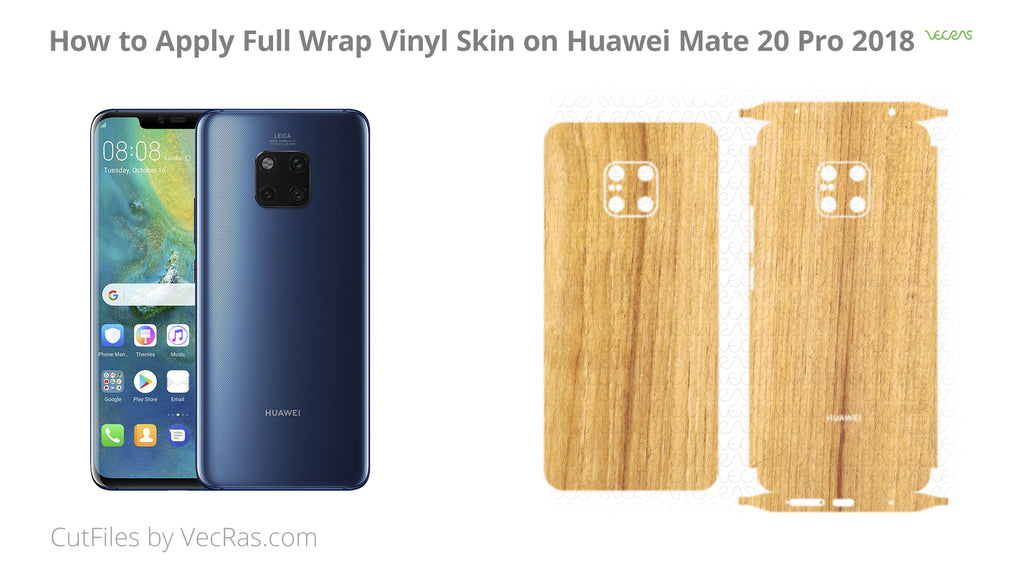 How to Apply 3M Vinyl Skin on Huawei Mate 20 Pro