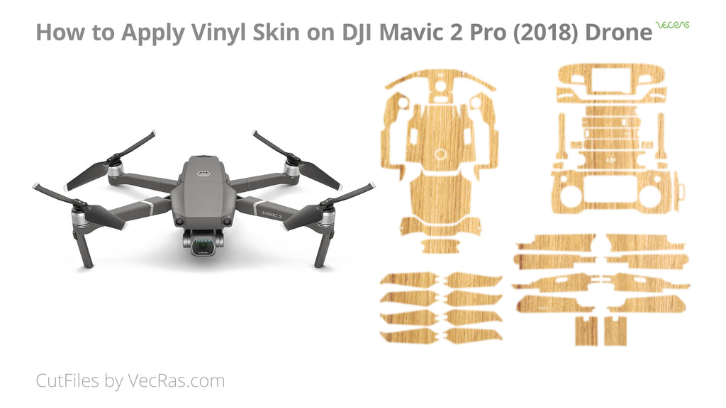 DJI Mavic 2 Pro 2018 3M Vinyl Skin Application Tutorial