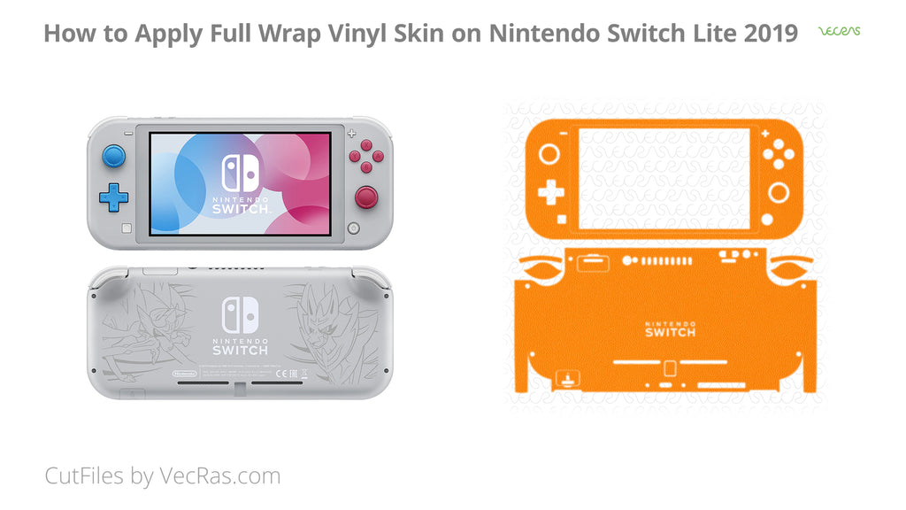 Nintendo Switch Lite Vinyl Skin Application Tutorial