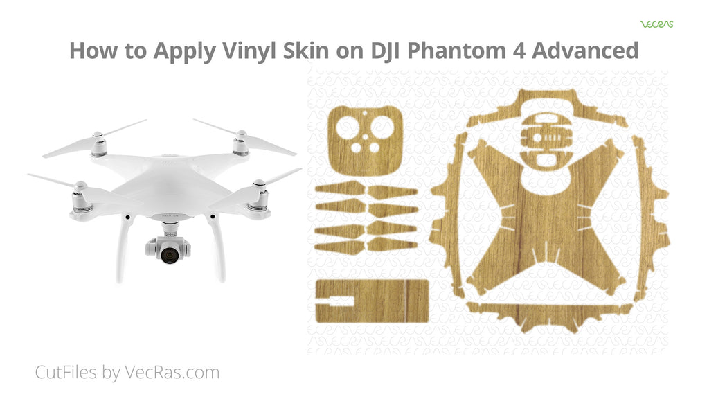 DJI Phantom 4 Advanced Drone Skin Application Tutorial