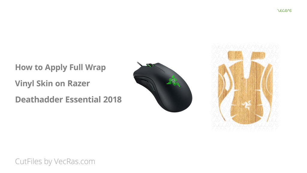 Razer Deathadder Essential 3M Vinyl Skin Application Tutorial