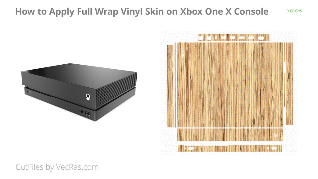 Xbox One X Console Vinyl Skin Application Tutorial