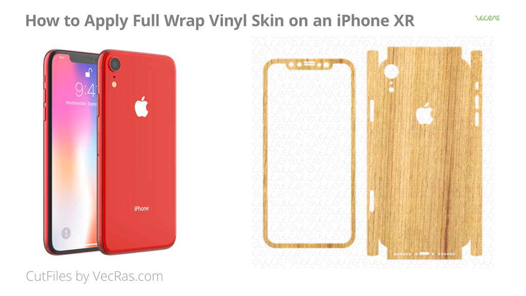 How to Apply 3M Vinyl Skin on an iPhone XR Tutorial
