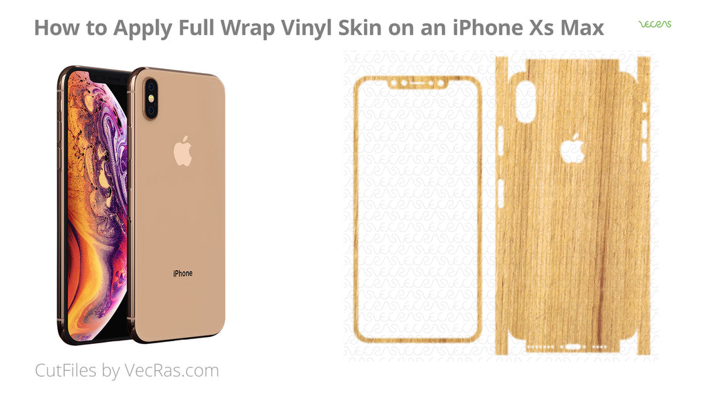 iPhone Xs Max 3M Vinyl Skin Application Tutorial