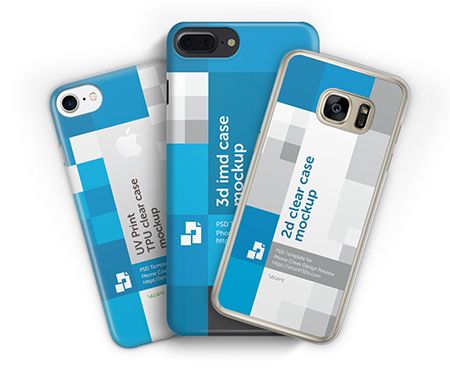 Mobile Case Design Mockups