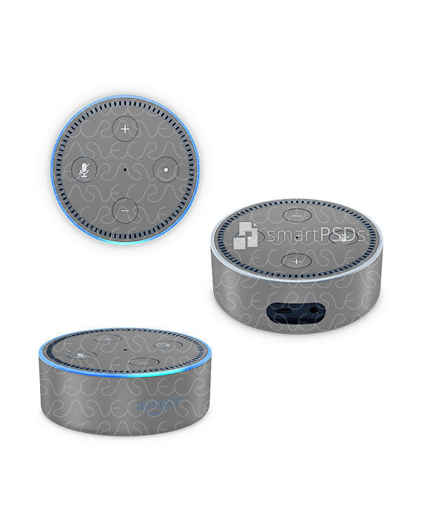 Amazon Echo Dot Audio Speaker Skin Design Template 2016
