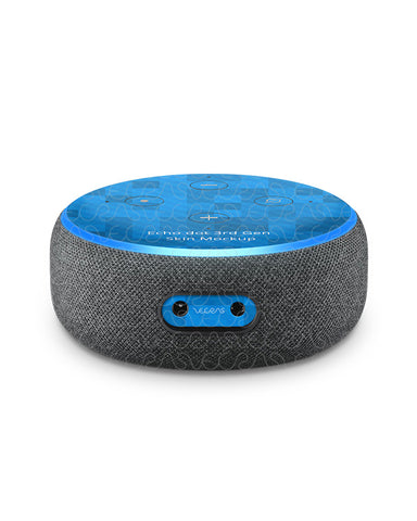 Amazon Echo Dot 3rd Gen Vinyl Skin Design Mockup 2018