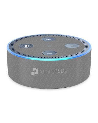 Amazon Eco Dot Gen 2 Audio Device Vinyl Skin Design Mockup