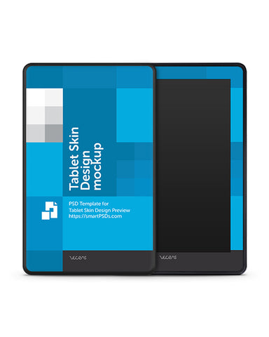 Amazon Kindle Fire Tablet Skin Design Template
