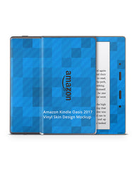 Amazon Kindle Oasis Vinyl Skin Design Mockup 2017
