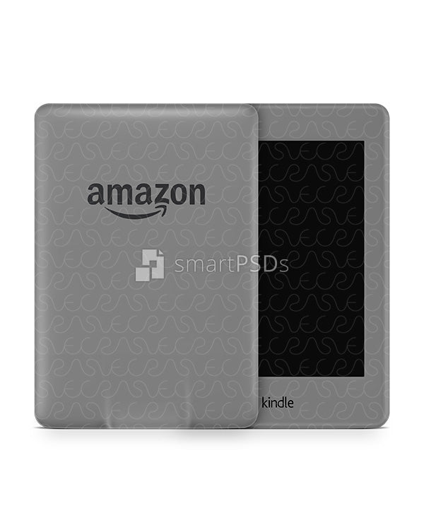 Amazon Kindle Paperwhite Vinyl Skin Design Mockup 2015