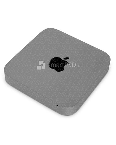 Apple Mac Mini Vinyl Skin Design Mockup