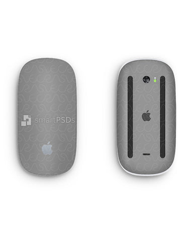 Apple Magic Mouse 2 Vinyl Skin Design Mockup 2015