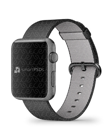 Apple Watch Series 1 38mm Skin Design Template- 2 Views