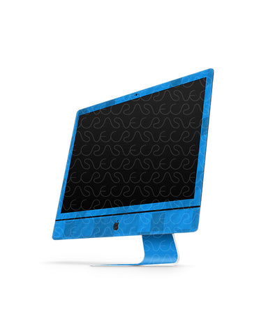 Apple iMac 21.5-inch Vinyl Skin Design Mockup 2015