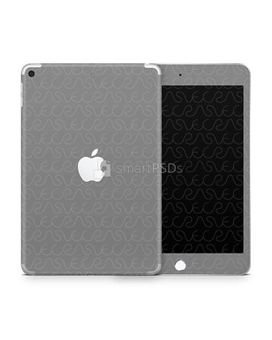 Apple iPad Mini 5 Vinyl Skin Design Mockup 2019