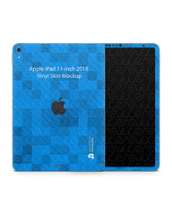 Apple iPad Pro 11-inch Tablet Skin Design Template 2018