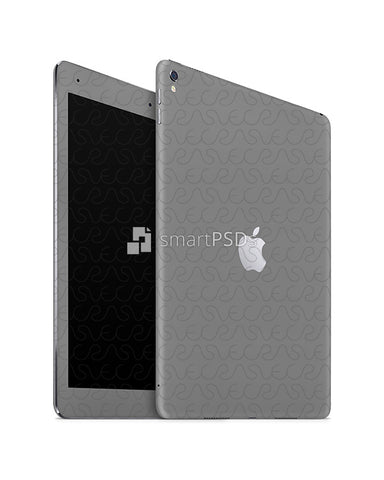 Apple iPad Pro 10.5 Tablet Skin Design Template (Front-Back Angled)