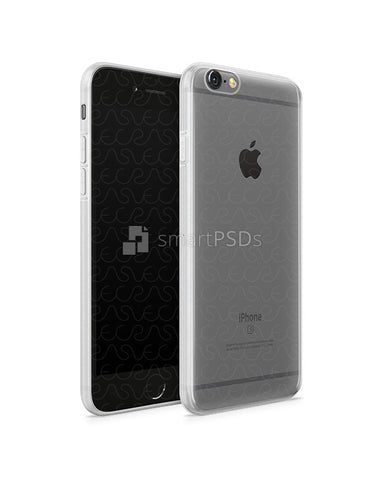 iPhone 6s UV TPU Case with Frosted Edges Design Mockup 2015