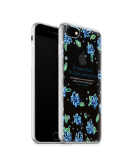 iPhone 7 UV TPU Case with Frosted Edges Design Mockup 2016 (Front-Back angled)