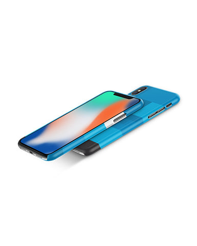 Apple iPhone X with Top Edge 3d IMD Case Design Mockup Back 2018 (3 Unique Shots)