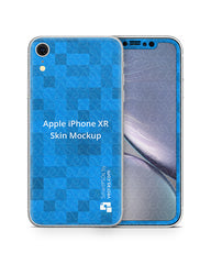 Apple iPhone XR Vinyl Skin Design Mockup 2018