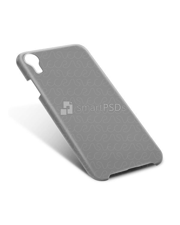 iPhone XR 3d IMD Case Design Mockup 2018 (Back Tilt)