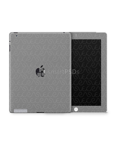 Apple iPad 2-3 Tablet Skin Design Template