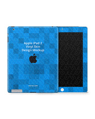 Apple iPad 2 Tablet Skin Design Template