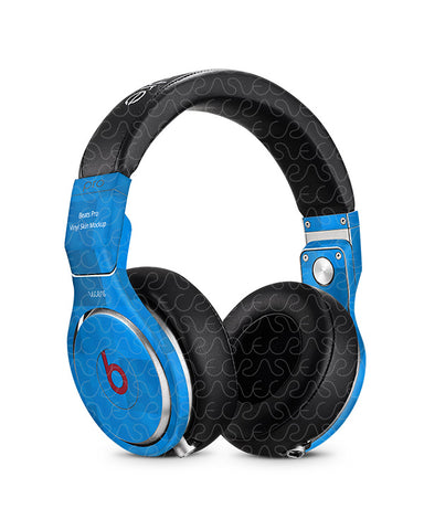 Beats Pro Wired Headphones Vinyl Skin Design Mockup 2012