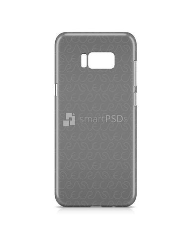 Samsung Galaxy S8 Plus 3d IMD Mobile Case Design Mockup 2017 (Closed Cut)