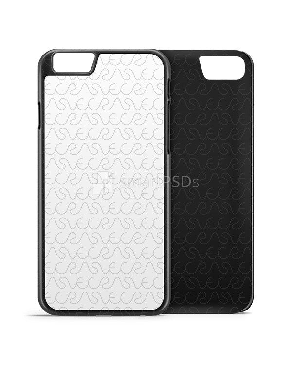 apple iphone 7 plus phone cover design template for 2d dye