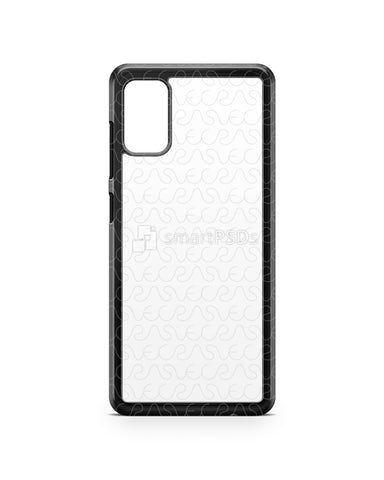 Galaxy A41 (2020) 2d PC Colored Case Design Mockup