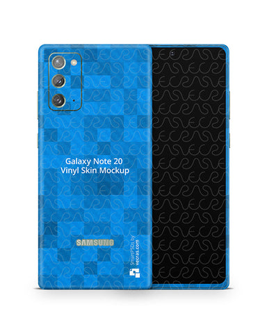 Galaxy Note 20 (2020) PSD Skin Mockup Template