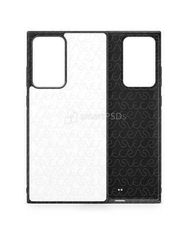 Galaxy Note 20 Ultra (2020) 2d Rubber Flex Case Design Mockup