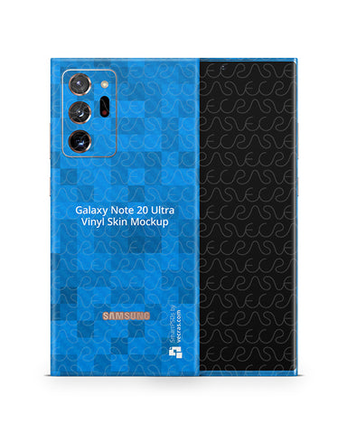 Galaxy Note 20 Ultra (2020) PSD Skin Mockup Template