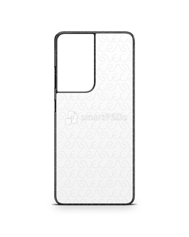 Galaxy S21 Ultra 5G (2021) 2d PC Colored Case Design Mockup