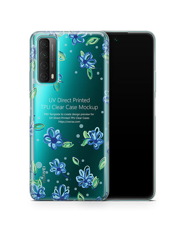 Huawei P Smart (2021) TPU Clear Case Mockup