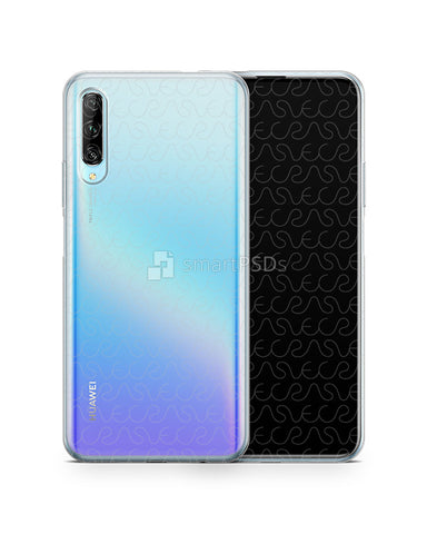 Huawei P Smart Pro (2019) TPU Clear Case Mockup