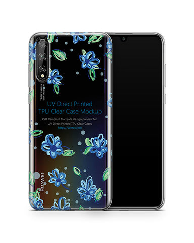 Huawei P Smart S (2020) TPU Clear Case Mockup